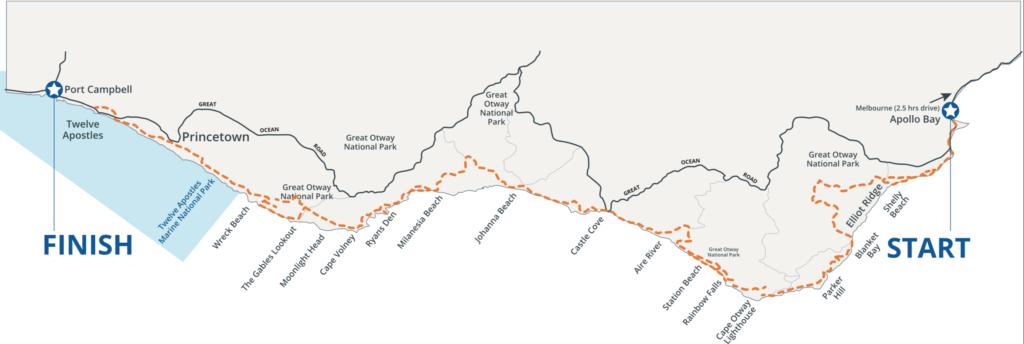 Great Ocean Walk Map