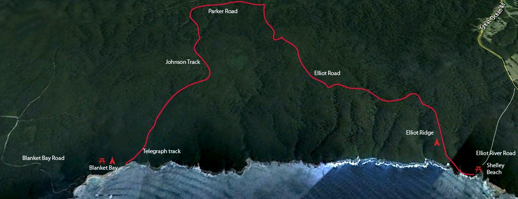 Shelly Beach to Parker Inlet